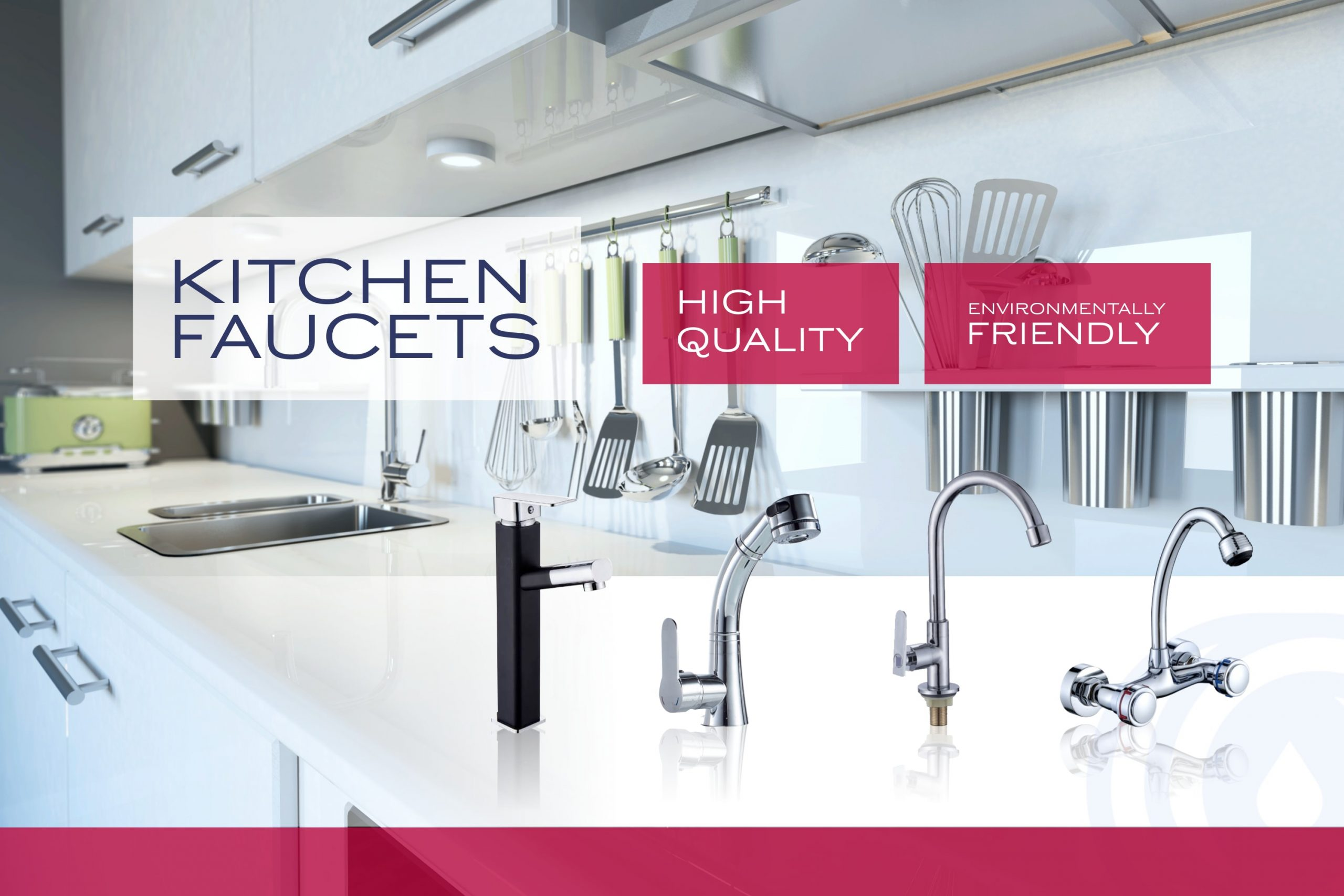 ouukey types of kitchen faucet